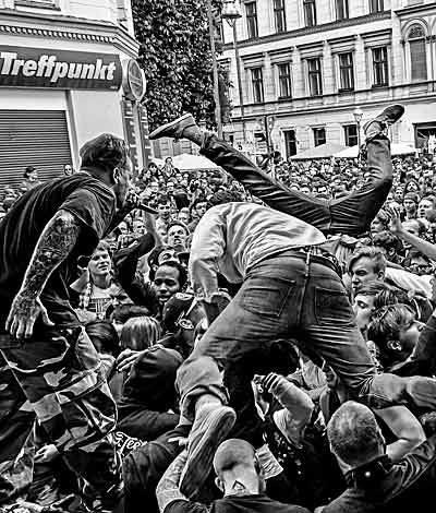 imagegallery stage diving photos © Eckhard Joite